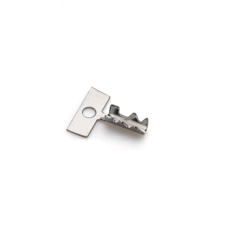 4.5mm齿形端子 齿形接线端子 铆接端子  压线端子 卡线端子