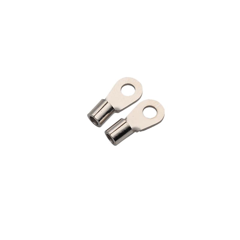 3.2x6.6x14.5黄铜镀镍传感器端子H65黄铜镀镍端子新能源汽车端子东莞端子厂