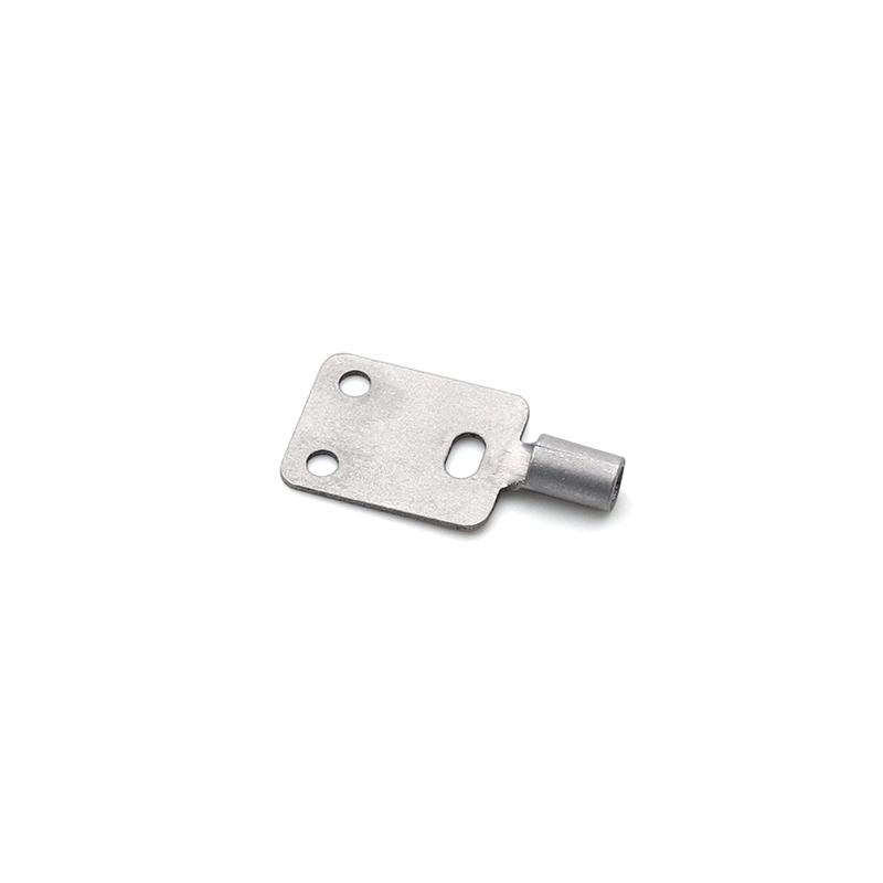 0.8T铝端子传感器端子AL1060新能源汽车激光焊接端子温度端子