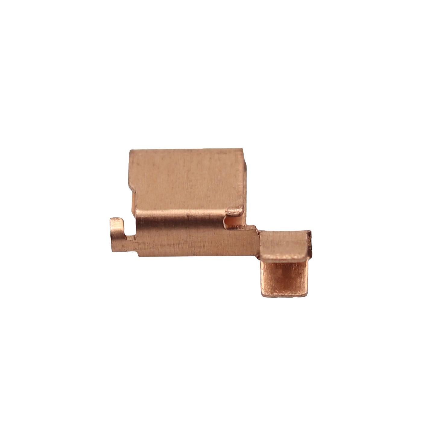 6.1x10.3單鉚磷青銅端子 潮州連接器接線端子優質廠家直銷志盈端子