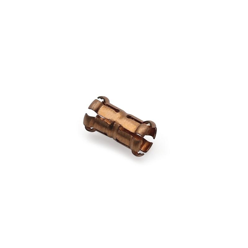 3.8x9.1进口铍铜冠簧端子鼓簧端子卡簧端子插接件端子端子C175000爪簧端子
