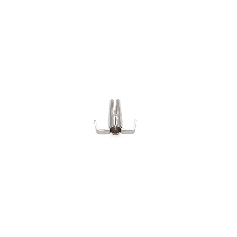 1.5x5.5爪簧端子真空热处理卡簧端子C172000鼓簧端子插接件端子新能源汽车端子爪簧端子