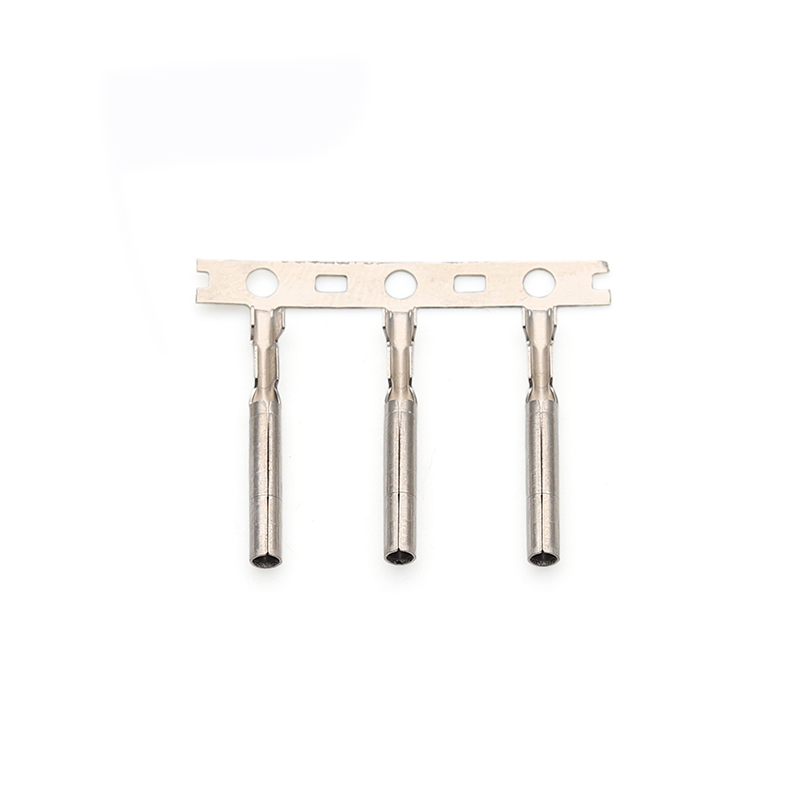 1.52x17双铆铜管H65黄铜防水插接件端子医疗线束端子东完精密端子厂家