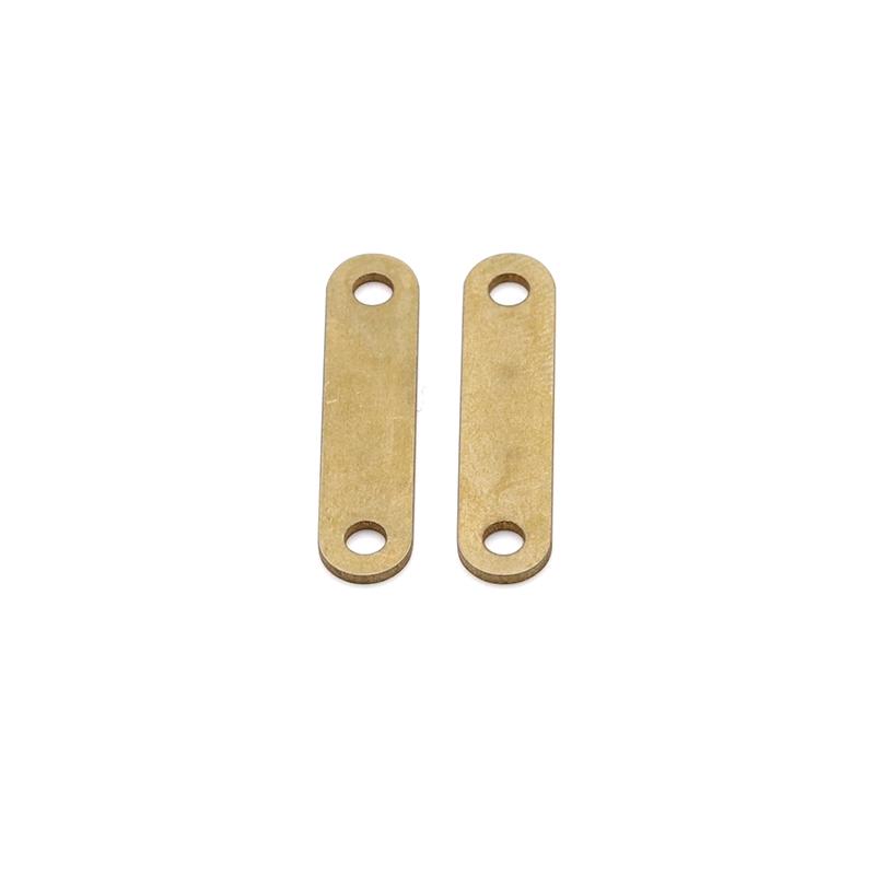 6x24.5x1.0t双孔连接片端子传感器端子LED照明端子东莞精密模具厂家直销
