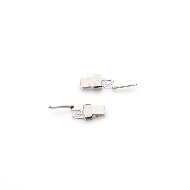 1.35x2.85x10.6U型夹口端子夹口弹片触摸铜片端子接线端子非标定制端子志盈端子