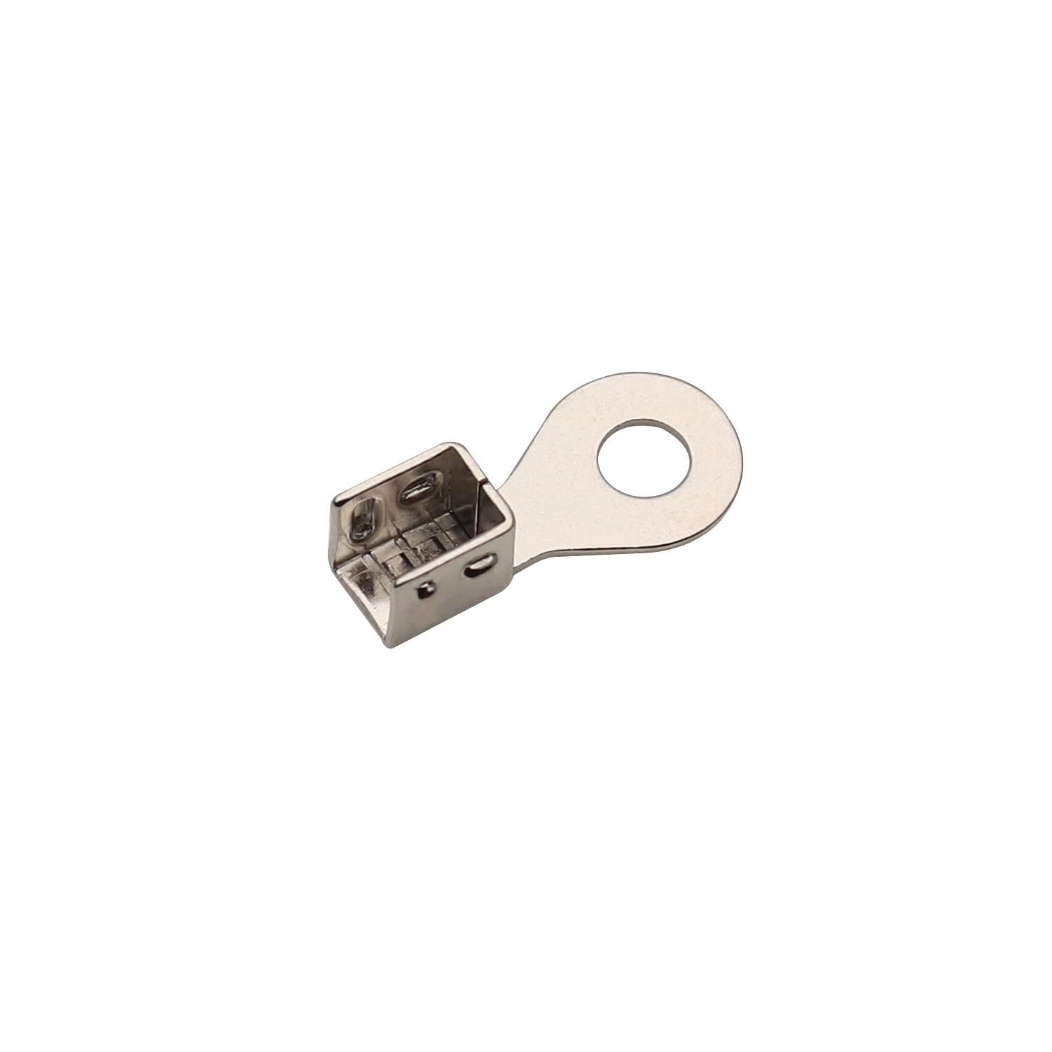 3.7x8.5x17.5磷銅鍍鎳端子 傳感器端子精密端子廠家志盈端子