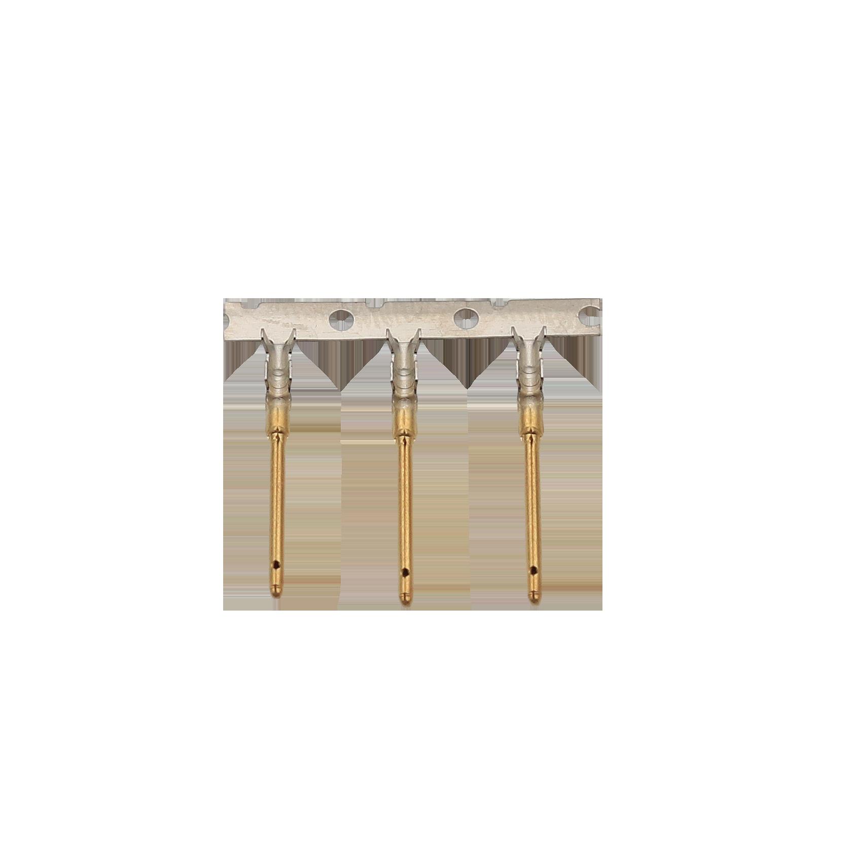 1.0X18.5鍍金公端 醫療端子接插件端子精密模具優質生產廠家志盈端子