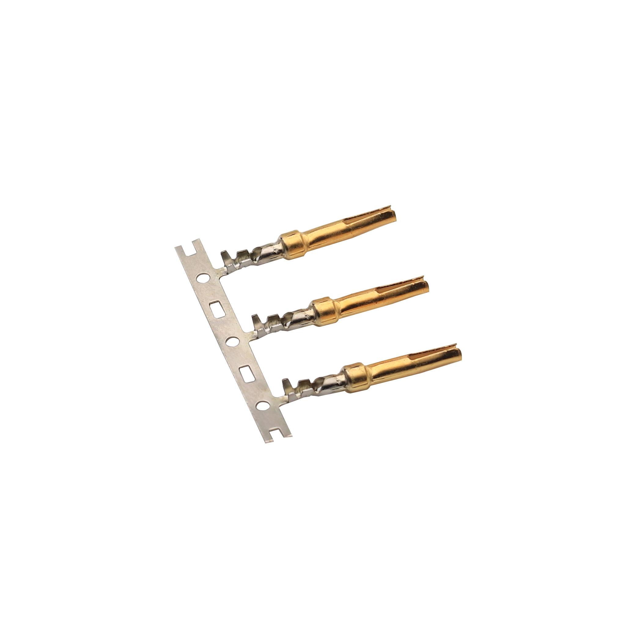 1.57x19鍍金開口母端 醫療端子接插件端子精密模具優質生產廠家志盈端子